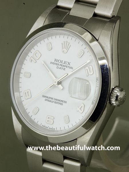 petite annonce rolex date saphire white dial le guide. Black Bedroom Furniture Sets. Home Design Ideas