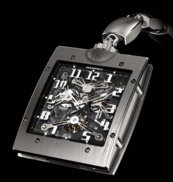 Price Richard Mille 020 Pocket Watch New List Price New Richard Mille