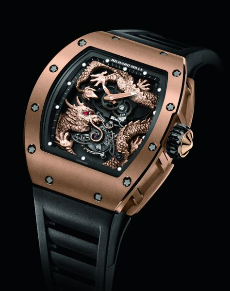Price Richard Mille 057 Tourbillon Dragon Jackie Chan New List