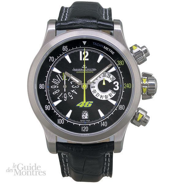 cote occasion jaeger lecoultre master compressor chronographe valentino rossi le guide des montres. Black Bedroom Furniture Sets. Home Design Ideas