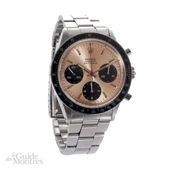 cote occasion rolex daytona r f 6241 circa 1960 le guide des montres. Black Bedroom Furniture Sets. Home Design Ideas