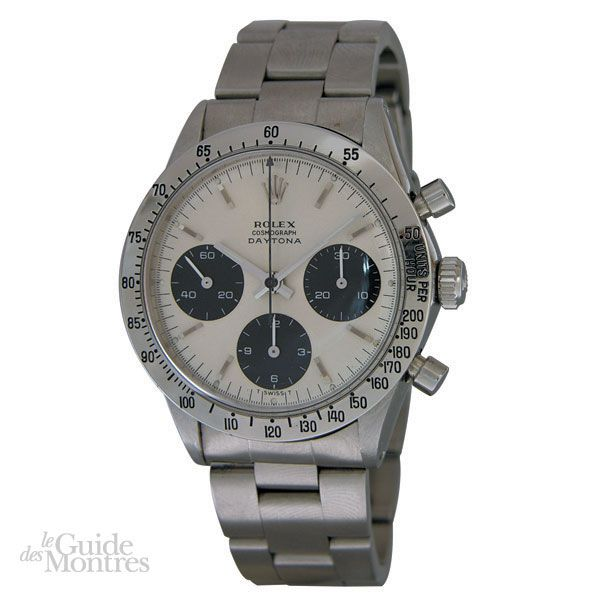 cote occasion rolex daytona r f 6239 circa 1960 le guide des montres. Black Bedroom Furniture Sets. Home Design Ideas