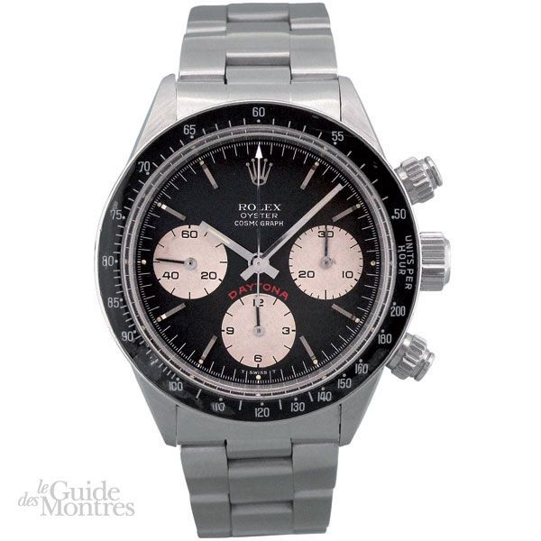 cote occasion rolex daytona ref 6263 big red le guide des montres. Black Bedroom Furniture Sets. Home Design Ideas