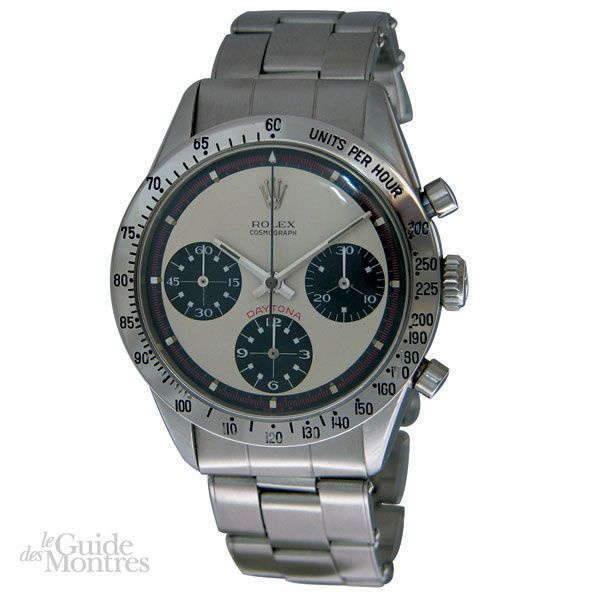 cote occasion rolex daytona paul newman ref 6239 circa 1960 le guide des montres. Black Bedroom Furniture Sets. Home Design Ideas