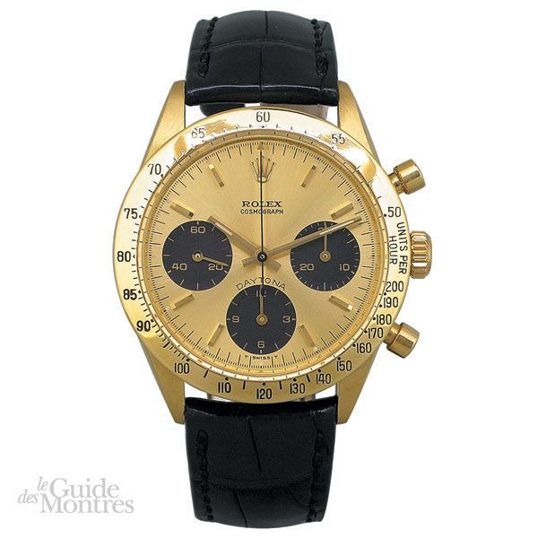 cote occasion rolex daytona r f 6239 circa 1970 le guide des montres. Black Bedroom Furniture Sets. Home Design Ideas