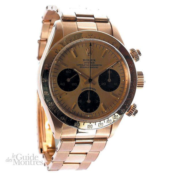 cote occasion rolex daytona ref 6265 en or 1980 le guide des montres. Black Bedroom Furniture Sets. Home Design Ideas