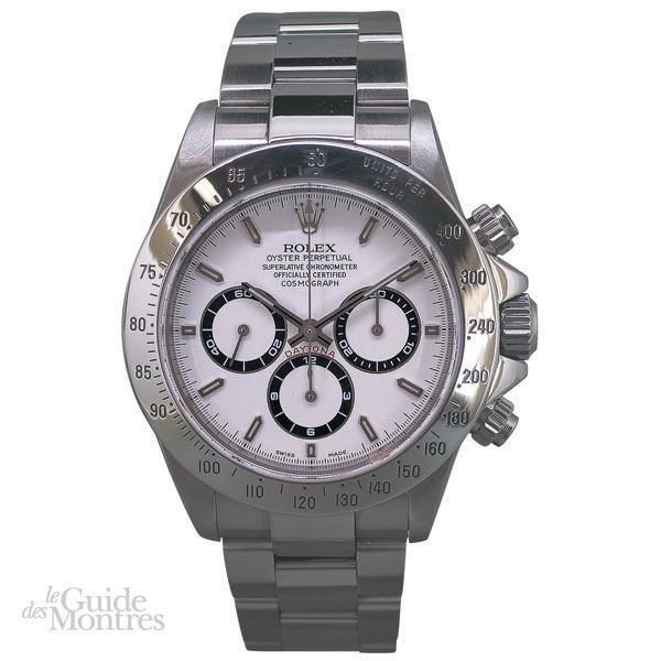 cote occasion rolex daytona r f 16520 s rie a circa 2000 le guide des montres. Black Bedroom Furniture Sets. Home Design Ideas
