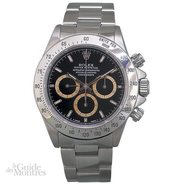 cote occasion rolex daytona r f 16520 patrizzi circa 1996 le guide des montres. Black Bedroom Furniture Sets. Home Design Ideas