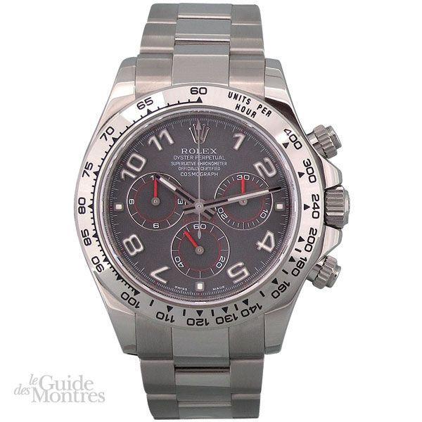 cote occasion rolex daytona r f 116509 le guide des montres. Black Bedroom Furniture Sets. Home Design Ideas