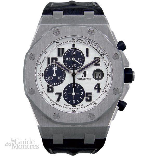 Cote occasion audemars piguet royal oak offshore navy le guide des montres for Royal oak offshore navy