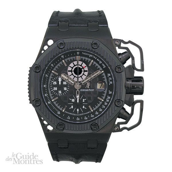 Cote occasion audemars piguet royal oak offshore survivor le guide des montres for Royal oak offshore survivor