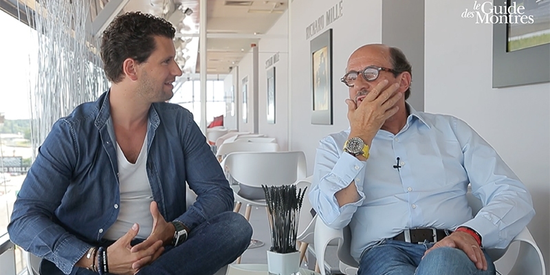 Richard Mille : l'interview exclusive pendant Le Mans Classic 2016