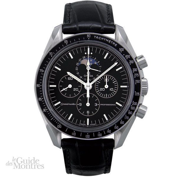 photos officielles a23d7 c91aa Cote occasion Omega Speedmaster Professional Moonwatch - Le ...